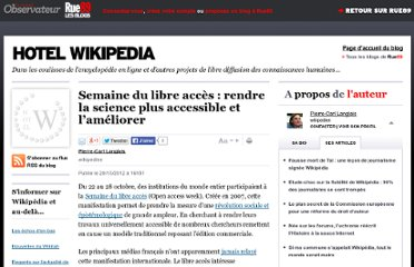 http://blogs.rue89.com/les-coulisses-de-wikipedia/2012/10/29/semaine-du-libre-acces-ou-discuter-du-futur-de-la-science