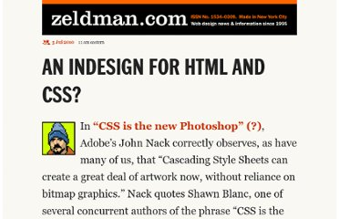 http://www.zeldman.com/2010/07/05/an-indesign-for-html-and-css/