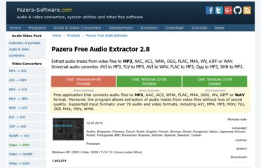 http://www.pazera-software.com/products/audio-extractor/