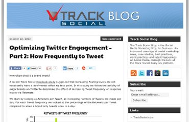 http://tracksocial.com/blog/2012/10/optimizing-twitter-engagement-part-2-how-frequently-to-tweet/