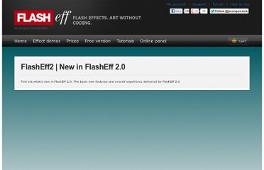 http://www.flasheff.com/tutorials/whatsnew.html