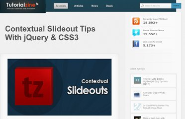http://tutorialzine.com/2010/04/slideout-context-tips-jquery-css3/