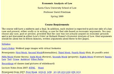http://www.daviddfriedman.com/Academic/Course_Pages/L_and_E_LS_09/Law_and_Econ_09.html