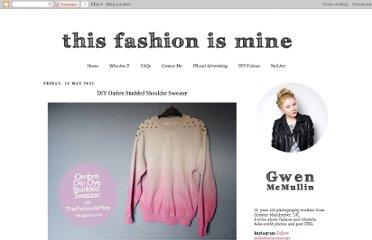 http://www.thisfashionismine.com/2012/05/diy-ombre-studded-shoulder-sweater.html