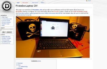 http://wiki.daviddarts.com/PirateBoxLaptop_DIY#Windows