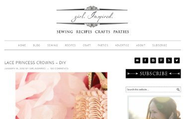 http://www.thegirlinspired.com/2012/01/lace-princess-crowns-diy.html