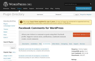 http://wordpress.org/extend/plugins/facebook-comments-for-wordpress/screenshots/