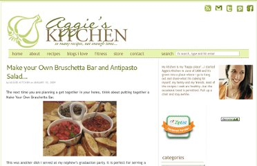 http://aggieskitchen.com/2009/01/10/make-your-own-bruschetta-bar-and-antipasto-salad/
