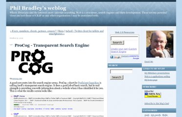 http://philbradley.typepad.com/phil_bradleys_weblog/2012/10/procog-transparent-search-engine.html
