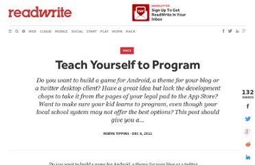 http://readwrite.com/2011/12/06/teach-yourself-to-program
