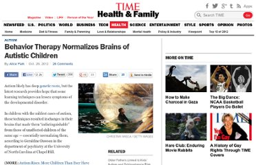 http://healthland.time.com/2012/10/26/behavior-therapy-normalizes-brains-of-autistic-children/