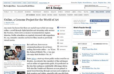 http://www.nytimes.com/2012/10/09/arts/design/artsy-is-mapping-the-world-of-art-on-the-web.html?hp
