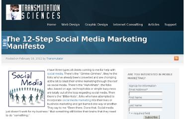 http://www.transmutationsciences.com/articles/12step-social-media-marketing-manifesto/