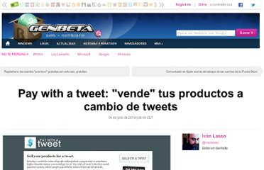 http://www.genbeta.com/web/pay-with-a-tweet-vende-tus-productos-a-cambio-de-tweets