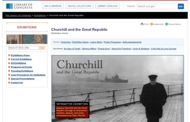http://www.loc.gov/exhibits/churchill/
