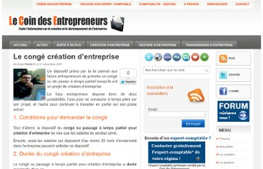 http://www.lecoindesentrepreneurs.fr/conge-creation-dentreprise/