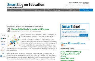 http://smartblogs.com/education/2012/11/01/using-digital-tools-make-difference/