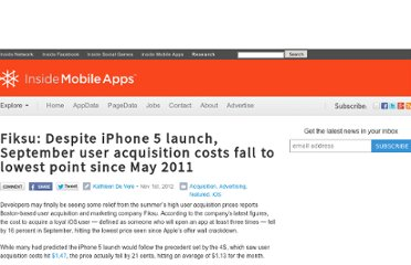 http://www.insidemobileapps.com/2012/11/01/fiksu-despite-iphone-5-launch-september-user-acquisition-costs-fall-to-lowest-point-since-may-2011/