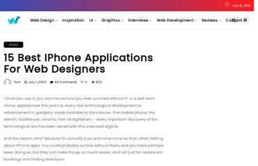 http://webdesignledger.com/tools/15-best-iphone-applications-for-web-designers