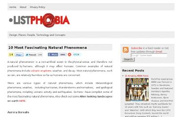 http://listphobia.com/2009/12/29/10-most-fascinating-natural-phenomena/