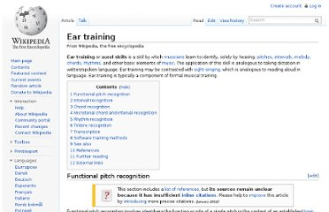 http://en.wikipedia.org/wiki/Ear_training