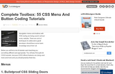 http://www.1stwebdesigner.com/tutorials/css-menu-button-tutorials/