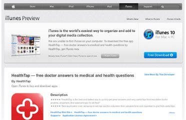 https://itunes.apple.com/us/app/healthtap-free-doctor-answers/id466079030?mt=8