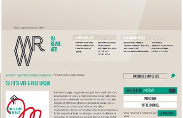 http://www.marevueweb.com/inspiration-design-graphique/50-sites-web-a-page-unique/