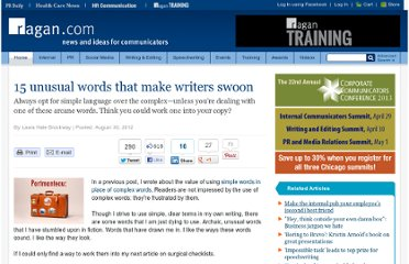 http://www.ragan.com/Main/Articles/15_unusual_words_that_make_writers_swoon_45432.aspx
