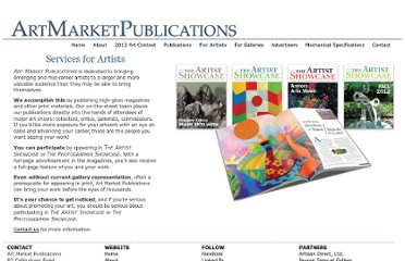 http://artmarketpublications.com/artists/