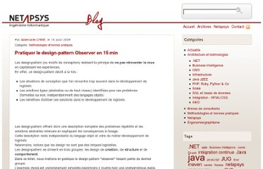 http://blog.netapsys.fr/index.php/post/2009/08/17/Pratiquer-le-design-pattern-Observer-en-30-min