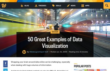 http://www.webdesignerdepot.com/2009/06/50-great-examples-of-data-visualization/