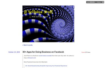 http://sellsius.posterous.com/30-apps-for-doing-business-on-facebook-1
