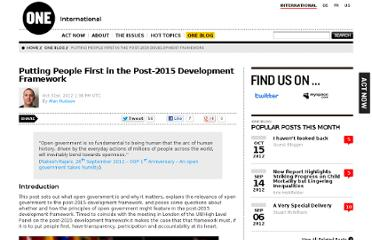 http://www.one.org/international/blog/putting-people-first-in-the-post-2015-development-framework/