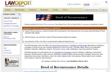 http://www.lawdepot.com/contracts/deed-of-reconveyance-form/