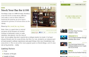 http://lifehacker.com/5337547/stock-your-bar-for-100