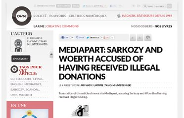 http://owni.fr/2010/07/06/mediapart-sarkozy-and-woerth-accused-of-receiving-illegal-donations/