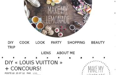 http://makemylemonade.com/diy-louis-vuitton-concours/