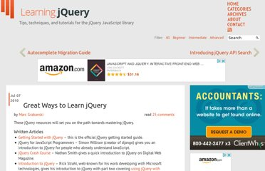 http://www.learningjquery.com/2010/07/great-ways-to-learn-jquery