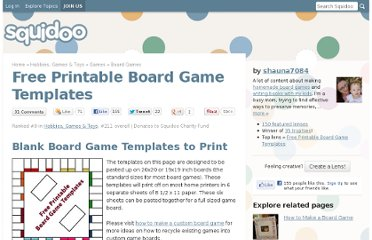 http://www.squidoo.com/board-game-templates