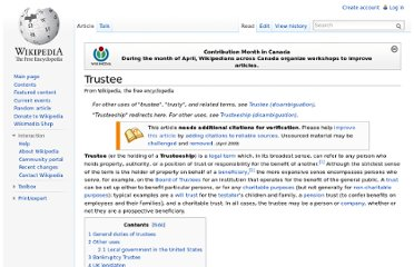 http://en.wikipedia.org/wiki/Trustee