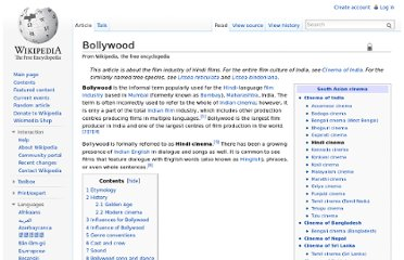 http://en.wikipedia.org/wiki/Bollywood