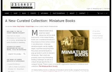 http://23sandy.com/works/blog-postings/a-new-curated-collection-miniature-books
