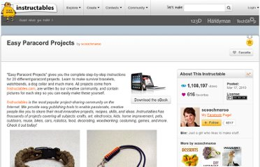 Paracord Projects | Paracord Projects Instructions, Videos, Reviews