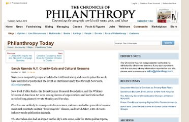 http://philanthropy.com/blogs/philanthropytoday/sandy-upends-n-y-charity-gala-and-cultural-seasons/56748