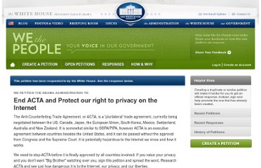 https://petitions.whitehouse.gov/petition/end-acta-and-protect-our-right-privacy-internet/MwfSVNBK