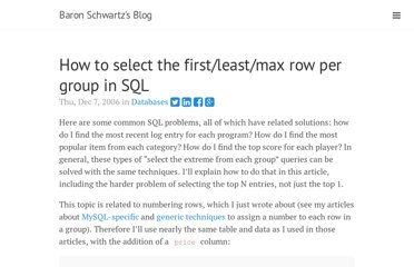 http://www.xaprb.com/blog/2006/12/07/how-to-select-the-firstleastmax-row-per-group-in-sql/
