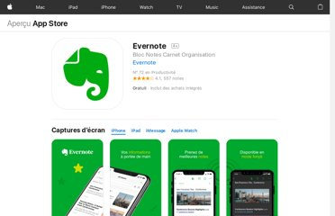 https://itunes.apple.com/fr/app/evernote/id281796108?mt=8
