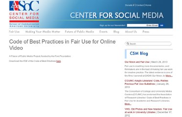 http://www.centerforsocialmedia.org/fair-use/related-materials/codes/code-best-practices-fair-use-online-video