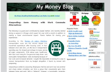 http://www.mymoneyblog.com/vanpooling-save-money-with-work-commute-alternatives.html